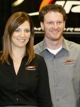 Dale Earnhardt Jr. and Kelley Earnhardt Miller Photo Credit Associated Press