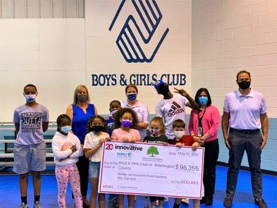 Boys and Girls Club Check