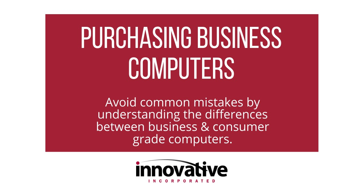 Purchasing Business Computers