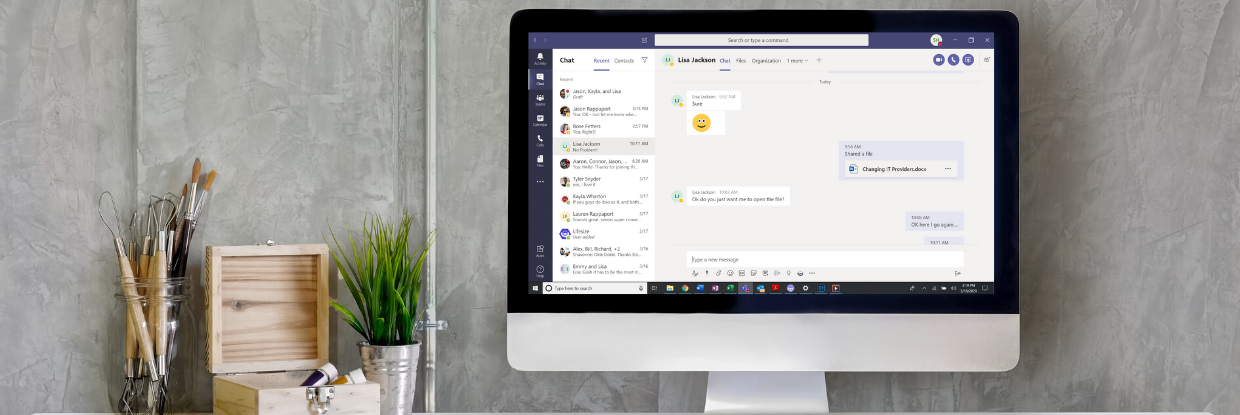 Collaboration and Connection While Working Remotely: Microsoft Teams